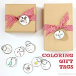 DIY Coloring Gift Tags