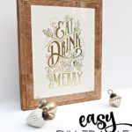 Easy DIY Frame & Minted Photo Art Giveaway