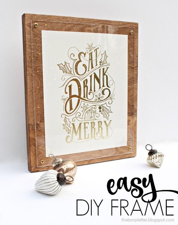 Easy DIY Frame & Minted Photo Art Giveaway - Jaime Costiglio