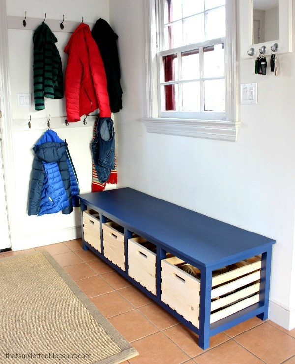 Diy Shoe Storage Bench Jaime Costiglio