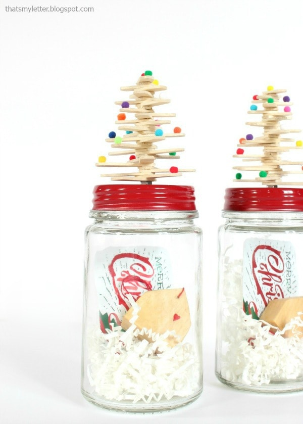 diy mason jar topper for gift giving
