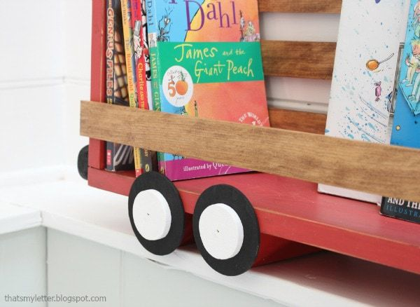 diy truck shelf with wheels