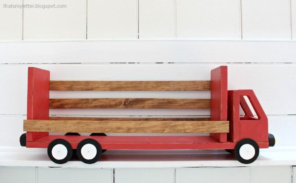 diy truck shelf empty