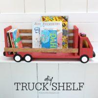 DIY Truck Shelf