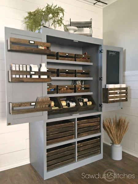 crate pantry free plans