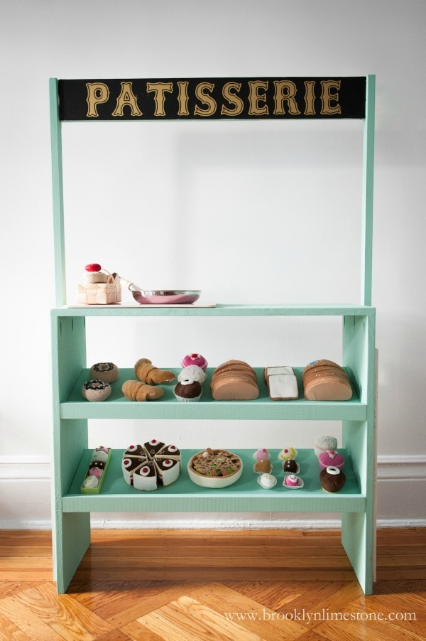 kids playstand patisserie free plans