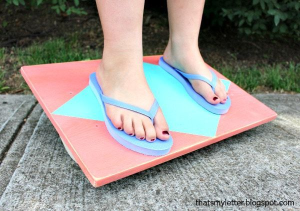 diy balance board kids toy free plans