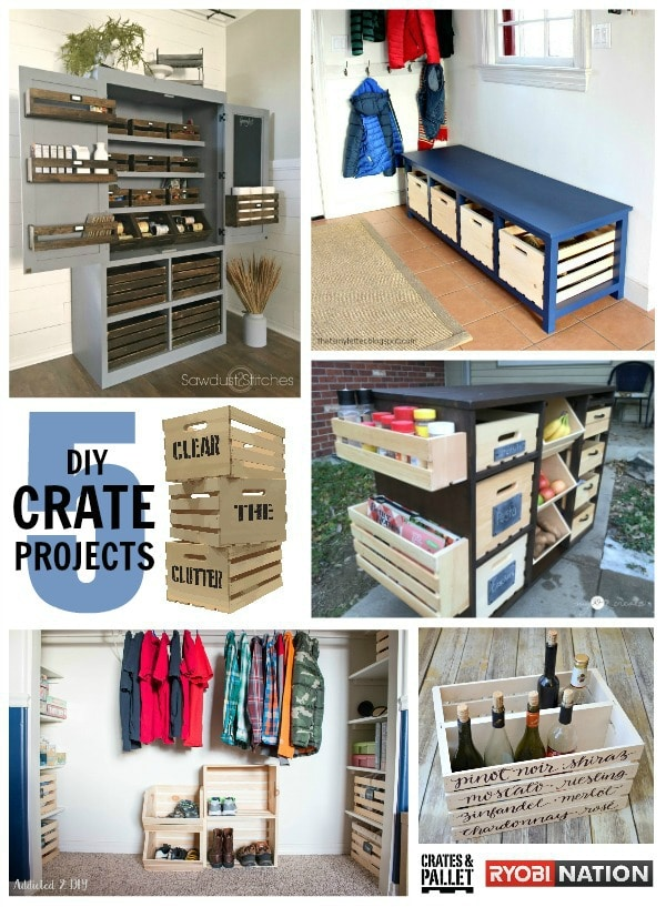 clear the clutter crate projects ryobi nation