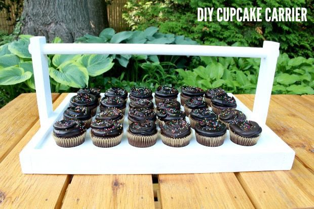 diy cupcake carrier free plans