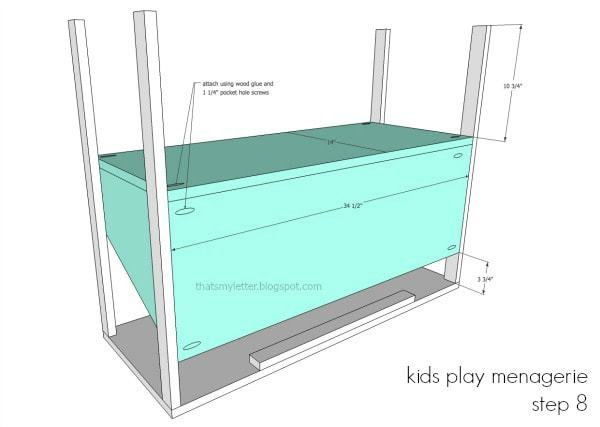 diy kids play menagerie free plans
