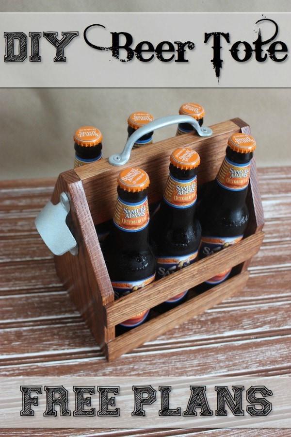 Rogue Engineer beer tote free plans