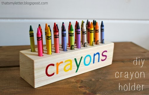 diy crayon holder free plans