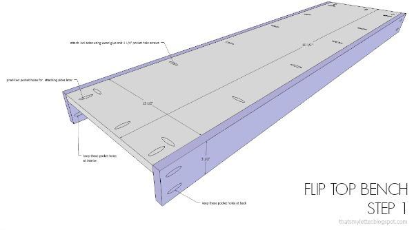 free plans mudroom bench