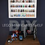 DIY Lego Minifigures Shelf with Free Plans