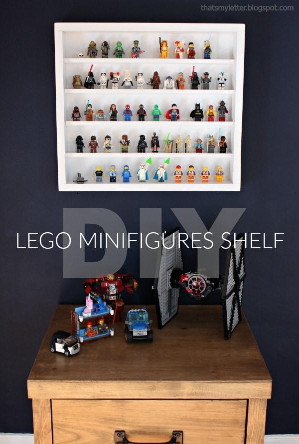 Diy Lego Minifigures Shelf With Free Plans Jaime Costiglio