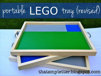 portable lego tray plans