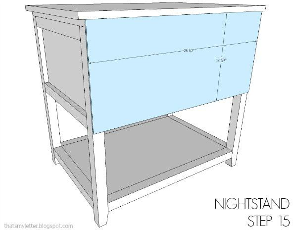 nightstand free plans step 15