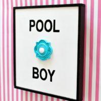 DIY Pool Boy Sign