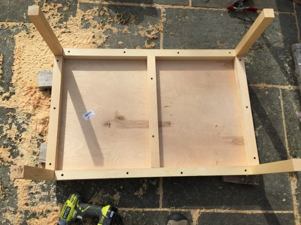 attaching base to top