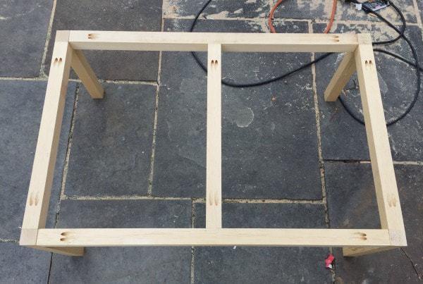 play table base frame