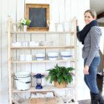 DIY Replica Vintage Shelving (free plans)