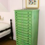 Color Stain Dresser Makeover