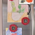 Swap It Like It's Hot: Flower & Chalkboard Magnets
