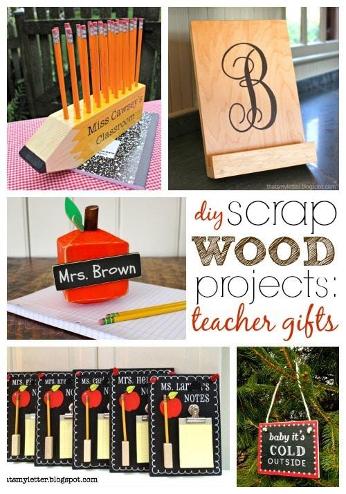 diy scrap wood teacher gift ideas