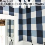 Buffalo Check Painted Walls