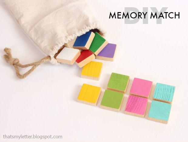 diy memory match game