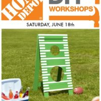 DIY Workshop Father's Day Football Toss