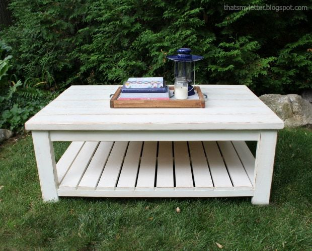 how to build a coffee table easy