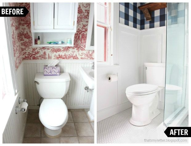 master bathroom renovation toilet before and after