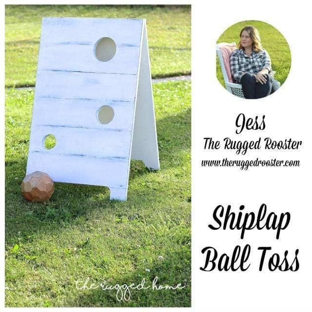 the rugged rooster shiplap ball toss
