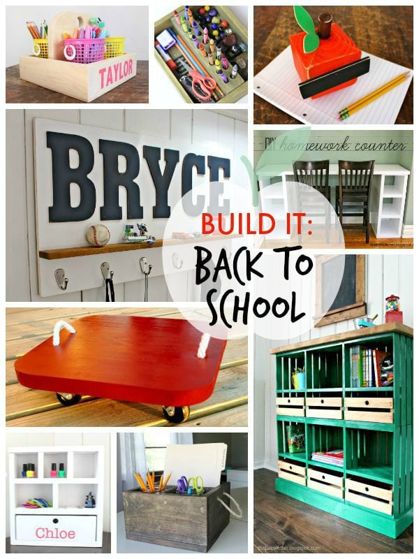 build it back to school projects