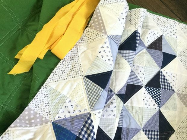 half square triangle quilt how to