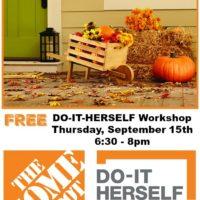 Do-It-Herself Rustic Wheelbarrow Workshop