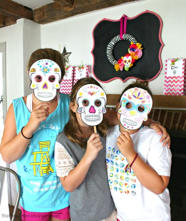 Day of the Dead Halloween party crafts