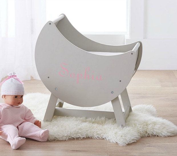 Pottery Barn Kids baby doll bassinet