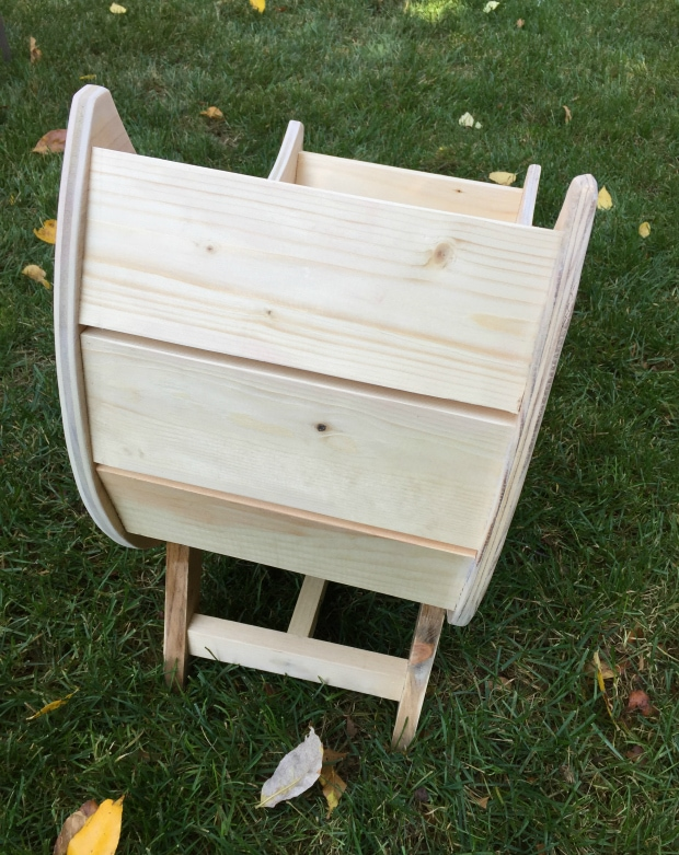 diy moon doll bassinet build