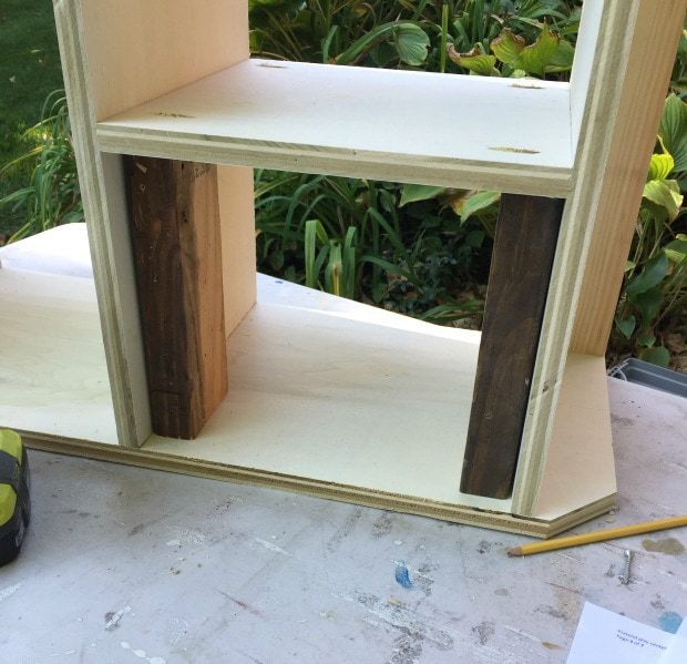 diy pretend play market shelf dividers