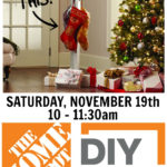 DIY Workshop: Stocking Post