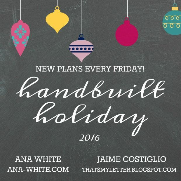 handbuilt holiday gifts to build free plans