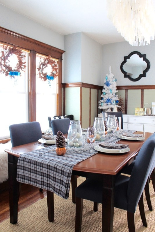 decor adventures holiday tablescape