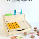 DIY Kids Play Cash Register