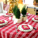 DIY Holiday Tablescape Tour