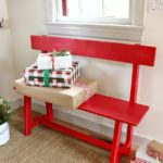 Entryway Bench Free Plans & Ryobi Tools Giveaway