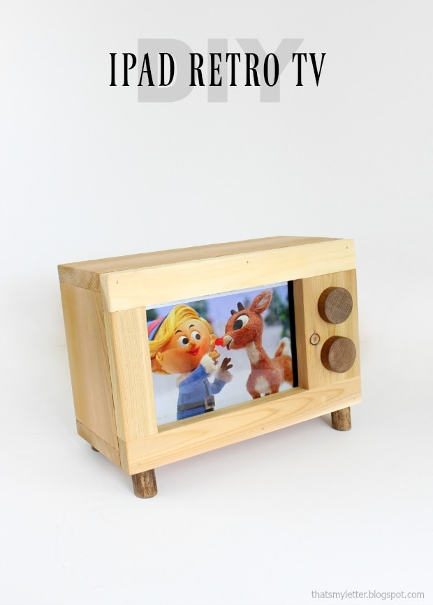 diy ipad retro tv