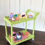 DIY Play Tea Cart