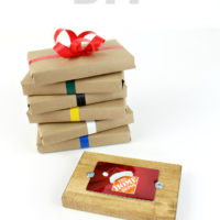 DIY Gift Card Holder & Virtual Party